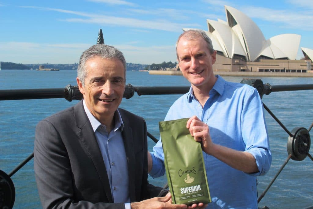 JDE Peet's Australian acquisition Campos Coffee