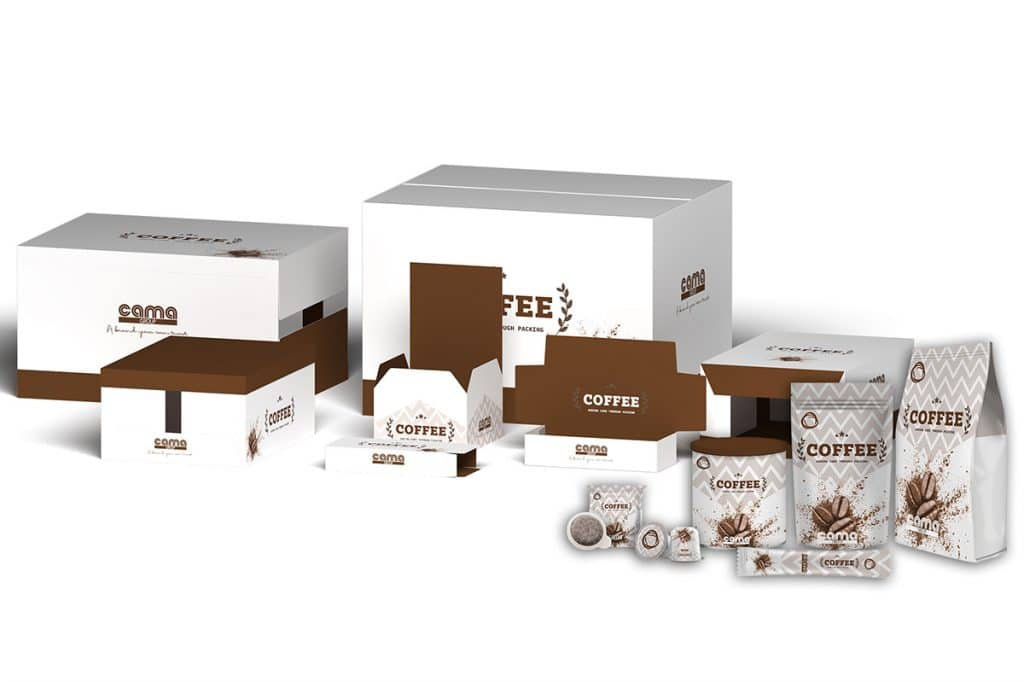 coffee packaging stands out